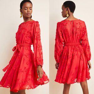 Anthropologie Mare Mare Amal Textured Mini Dress